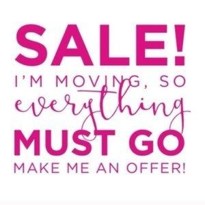 Closet clean out! Send me offers!!